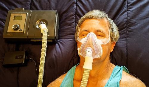 appareil CPAP en cas d'apnée du sommeil